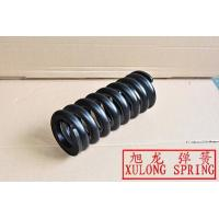 black painted customized hot wound helical springs