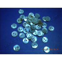 Wholesale Round 2 Holes White MOP Shell Button