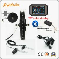 Wholesale TFT Programmable Electric Bike Hub Motor Kit 48v / 72v / 96v 5000w from china suppliers