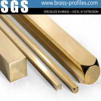 Wholesale Building Materials Brass Bar Sheet Brush Brass Rectangle Bar from china suppliers