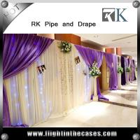 Wholesale Backdrop pipe and drape, used pipe and drape for sale pipe drape from china suppliers