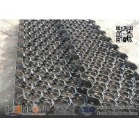 Wholesale 10X2.0X50mm Carbon Mild Steel  Hexmesh With reinforced Strip | China Exporter from china suppliers