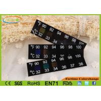 Wholesale Flexible PET Temperature Thermometer Strip , No Mercury Contained And Unbreakable from china suppliers