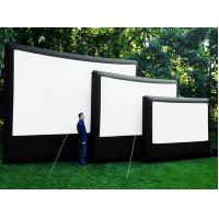 Wholesale 8 * 6m Outdoor Inflatable Movie Screen 0.9mm PVC Tarpaulin Flame Retardant from china suppliers