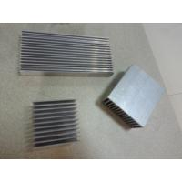 Wholesale Precision CNC Machined Extruded Aluminum Shapes , Extruded Heat Sink from china suppliers