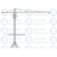 Wholesale 8 Tons 5513 55 m Boom Self Raising Mobile Tower Crane With 20 Meters Rail from china suppliers