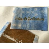 Buy cheap Widely Used Damask Woven Labels , Digital Print Logo Satin Woven Labels from wholesalers