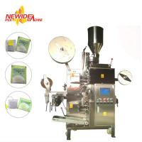 Wholesale VFFS Tea Bag Packing Machine , Inner And Outer Buckwheat Tea Bag Filling Machine from china suppliers