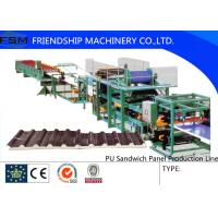 Wholesale Discontinuous PU Sandwich Panel Production Line double-layer laminator from china suppliers