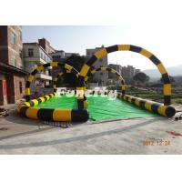 Wholesale 0.6mm PVC Tarpaulin Inflatable Sport Games Colorful Used for Zorb Game from china suppliers