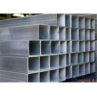 Wholesale Fluid Transportation Square Steel Pipe GI Galvanized Steel Material , 1.0-22mm Wall Thickness from china suppliers