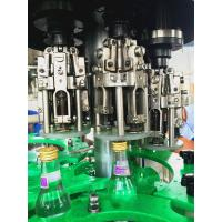 Wholesale Carbonated alcohol beverage , 3 in 1 Glass Bottle Filling Machine with 18 heads from china suppliers