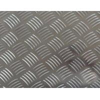 Wholesale Easy Processing Aluminum Tread Plate , Coil 5 Bar Chequered Embossed Aluminum Sheet Plate from china suppliers