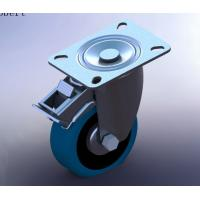 Wholesale Industrial Trolley Replacement Caster Wheels Swivel With Double Lock And Brakes from china suppliers