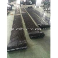 Wholesale Heavy Duty Roller Canvas Conveyor Belt For Sand Conveying Machine , Flat / Cut Edge Type from china suppliers
