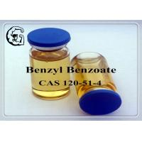 Wholesale CAS 120-51-4 Injectable Anabolic Steroids Solvents Medical Grade Benzyl Benzoate from china suppliers