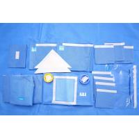 Wholesale Breathable SMMS EO Sterile Fenestrated Drape Packs for Clinic Surgery from china suppliers