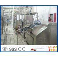 Wholesale Multifunctional 5000LPH  Milk Processing line with pasteurized milk , UHT, cream and butter from china suppliers