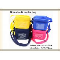 Wholesale Fashion Portable Breast Milk Ice Pack / Breastmilk Cooler Bag from china suppliers