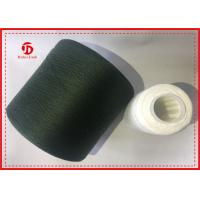 Wholesale Raw White Dyed Polyester Knitting Yarn With Two For One Technics Autocone Waxed from china suppliers
