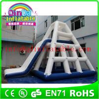 Wholesale 2015 hot sale qinda inflatable floating water slide from china suppliers