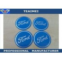 Wholesale 55 / 60 / 68 Mm Wheel Center Cap Stickers Custom Wheel Center Cap Decals from china suppliers