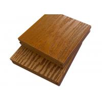 Quality Walnut Waterproof WPC Composite Decking For Outdoor Floor 140mm × 28mm for sale