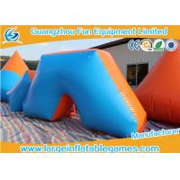 Buy cheap Different Shapes 0.6mm Plato PVC Inflatable Paintball Bunkers Bunker Achery Games from wholesalers
