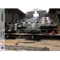 Wholesale Servo Electronic And 5.1 Audio 6D Cinema Equipment With Dynamic Chairs from china suppliers