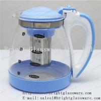 Quality Stocked, Eco-Friendly Feature and Glass tea pot with filter for sale