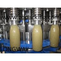 Wholesale Bottled Juice Filling Plant/Machine/System ,Pineapple Juice Filling Machine Monobloc soybean milk sm from china suppliers
