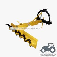 Wholesale 4HDGBR - Tractor Mounted 3point Grader Blade with Rippers 4Ft - Heavy duty from china suppliers