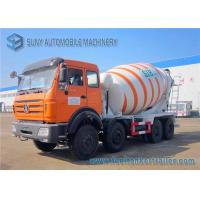 Wholesale Beiben 8x4 concrete mixing truck NG80 Cab Weichai 336hp Engine from china suppliers
