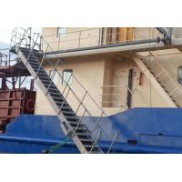 Fixed Inclined Steel  / Aluminum Alloy Marine Boarding Ladder Accommodation Ladder