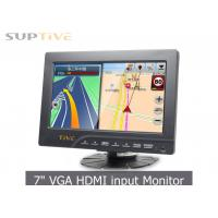 China 7 TFT LCD Monitor / Computer Monitor For Security Camera 5 Wire Optional on sale