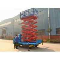 Wholesale 4m -18m Platform height Truck Mounted Aerial Lift , hydraulic lift working under 3kw from china suppliers