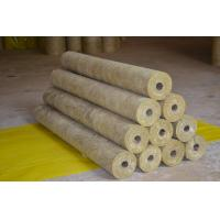 Wholesale High Density Rockwool Pipe Insulation Material Heat Resistant ISO CE from china suppliers