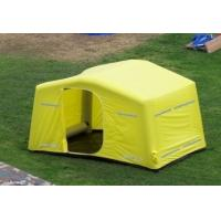 Wholesale 0.9mm PVC Tarpaulin + Oxford Cloth Tourism / Advertising Inflatable Party Tent Yellow from china suppliers