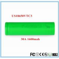 Wholesale Sony 30A IMR18650 3.7v 1600mah Li-ion Battery from china suppliers