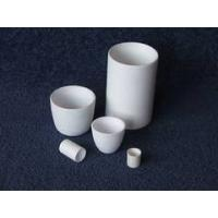 Wholesale Good thermal shock Ceramic Cylindrical Aluminum Oxide Special shaped Crucibles from china suppliers