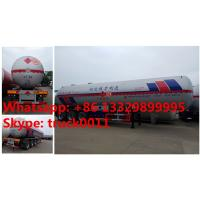 Wholesale HOT SALE! 2017s new CLW 59.53m3 propane gas tank semitrailer for sale, factory sale bottom price 59,530L lpg gas trailer from china suppliers