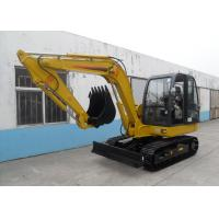Wholesale Hydraulic Heavy Construction Vehicles , Wheel Loader Excavator 34 Mpa Working Pressure from china suppliers