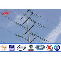 Wholesale 220kv Galvanized Utility Power Poles For Electrical Transmission Line Project from china suppliers