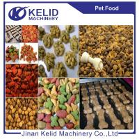 Wholesale Animal pet food production line dog food machine fish feed making machine from china suppliers