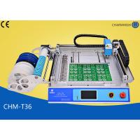 Quality CHMT36 Desktop SMT Pick and Place Machine , SMT equipment For LED SMD Surface Mounting for sale