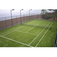 Wholesale Fire-retardant Green Tennis Artificial Grass Yarn Count 6300Dtex from china suppliers