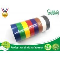 Wholesale White /  Yellow / Red Crepe Paper Decorative Masking Tape With Rubber Based Gule from china suppliers