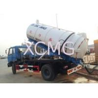 Wholesale Vaccum Special Purpose Vehicles , 6.5L Septic Pump Truck For Irrigation / Drainage from china suppliers