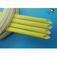 Wholesale ROHS REACH 1.5KV Home Electrical Appliance Tubing Acryic Resin Coated Fiber Glass Sleeving from china suppliers