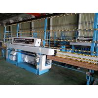 Wholesale Miter Glass Glass Edging Machine With Air Polishing / Electrical Rail Lift System from china suppliers